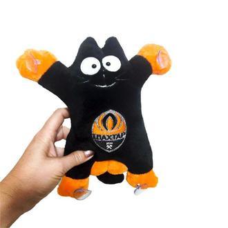 Авто  игрушка VKmade кот Саймон с эмблемой футбольного клуба Шахтер  на присосках 27 см