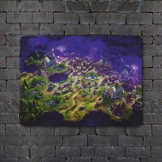 Постер (картина) табличка — Fortnite