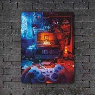 Постер (картина) табличка — PlayStation