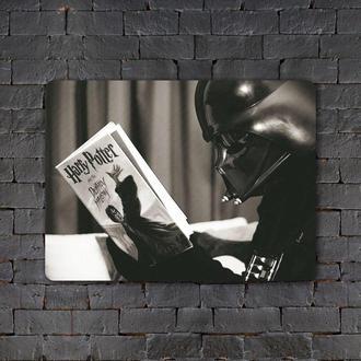 Постер (картина) табличка — Дарт Вейдер