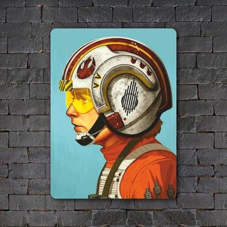 Постер (картина) табличка — Звёздные войны