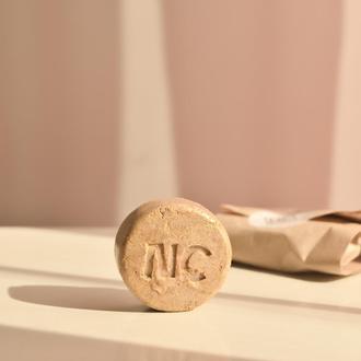 Твердый шампунь GOLD AUTUMN с глинами и эфирным маслом иланг-иланга