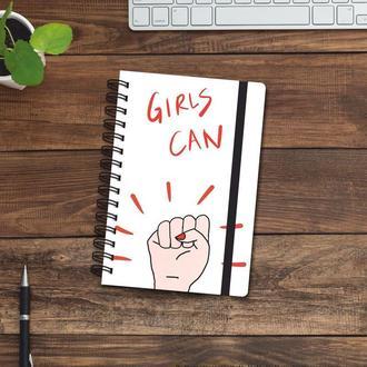 Скетчбук (блокнот) — Girls can
