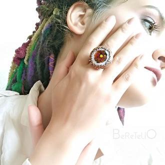 круглое кольцо