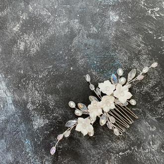 Гребень для волос гребень невесты украшение в волосы