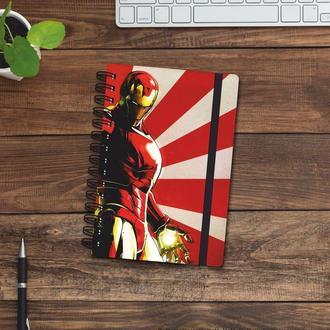 Скетчбук (блокнот) — Iron man