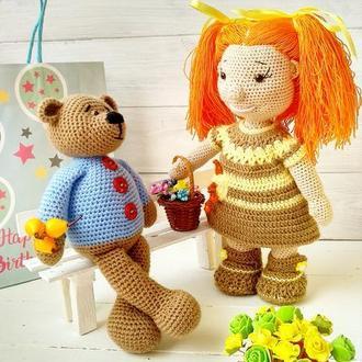 Лялька з рудим волоссям