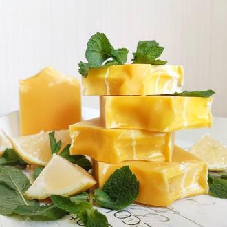 """Хозяйственное мыло """"Лимон и Мята"""""""