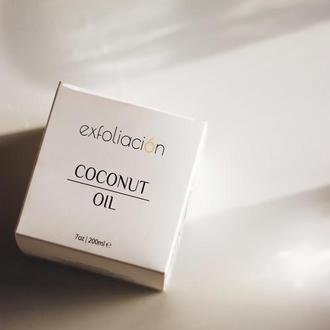 Кокосова олія для волосся і тіла/ Кокосовое масло для волос и тела.
