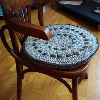 Подушка на стул. Джут.