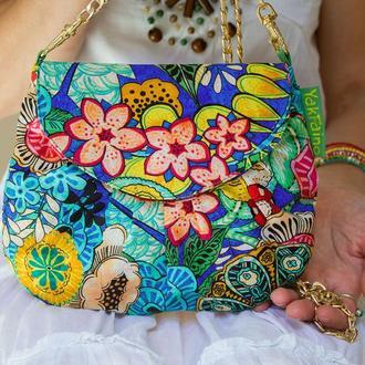 """Женская сумочка """"Разноцветики"""""""
