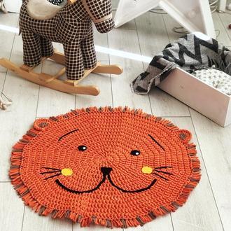 Детский вязаный ковёр