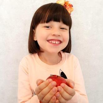 Осенний яркий ободок для девочки