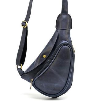 Мини-рюкзак из натуральной кожи на одно плечо TK-3026-3md TARWA