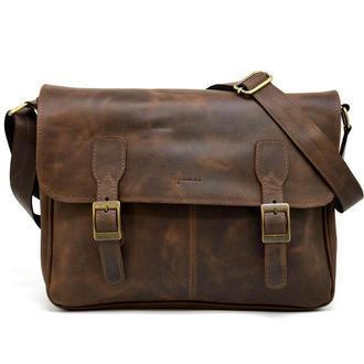 Кожаная сумка через плечо для ноутбука и документов RC-7022-3md TARWA