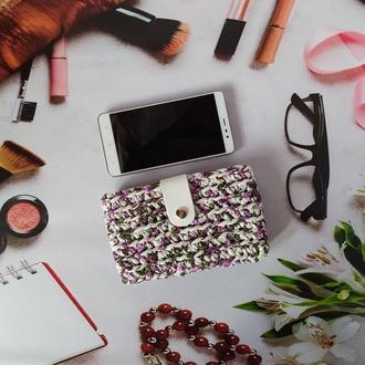 Кольоровий чохол для телефону/ гаманець