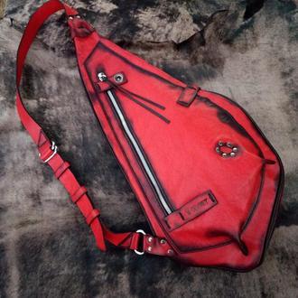 Рюкзак слинг «Fire snail»