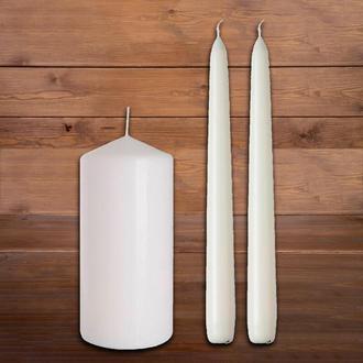 Свечи без декора