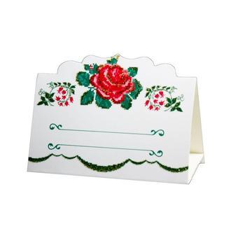 Рассадочная карточка в украинском стиле (арт. PC-35)