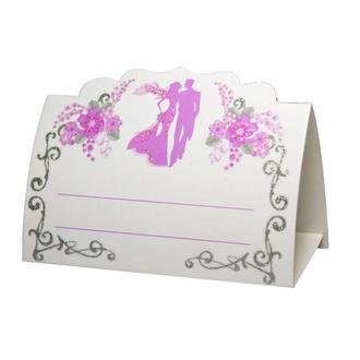 Рассадочная карточка фиолетового цвета (арт. PC-47)