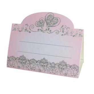 Рассадочная карточка пудрового цвета (арт. PC-66)