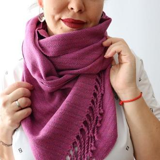 Тканый шарф Pink