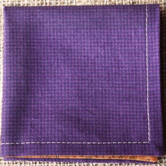 Мужской нагрудный платок ручной работы