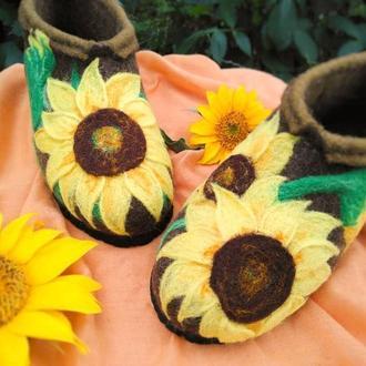 Валяночки, туфли, домашние тапки