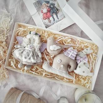 Подарунковий набір ялинкових іграшок подарунок Новий рік іграшка на ялинку Різдво