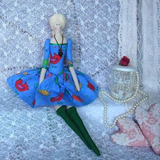 Кукла в стиле Тильда Талита плюс БЕСПЛАТНЫЙ ПОДАРОК