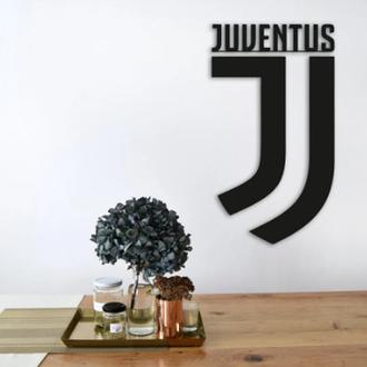 "Эмблема ""Ювентус"", Интерьерная картина из дерева, Juventus"
