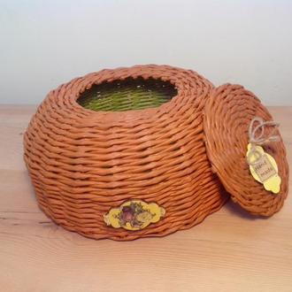 Декоративная корзинка шкатулка 26см10см