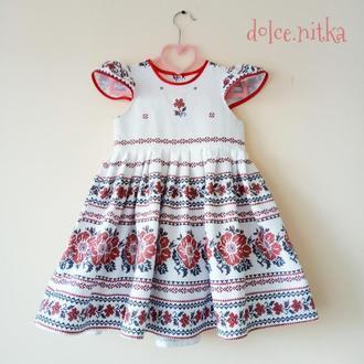 Платье вышиванка вишиванка