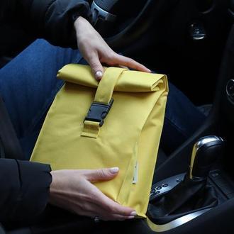 Маленькая термосумка для еди с собой от lunch bag UA