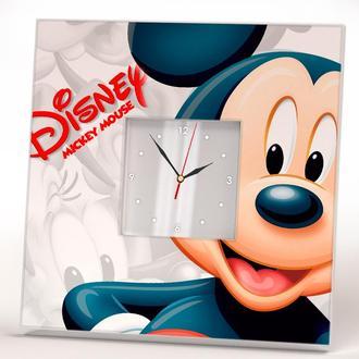 """Классные необычные часы """"Микки Маус"""" в детскую комнату"""