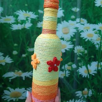 Декоративная бутылочка