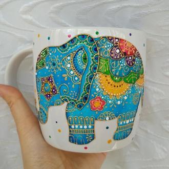 Чашка Волшебный слон