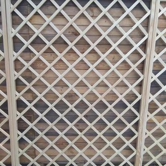 Решетка декоративная деревянная, пергола