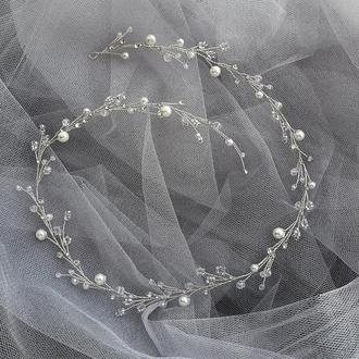 Свадебное украшение для волос, украшения в прическу, украшения для невесты, венок в прическу