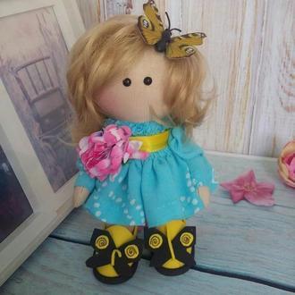 куколка текстильная Малышка 15см