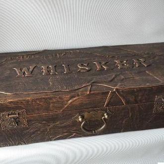 Дистиллятор медный в кожаном чемодане