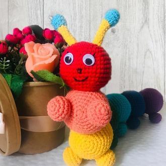 Детская игрушка гусеница