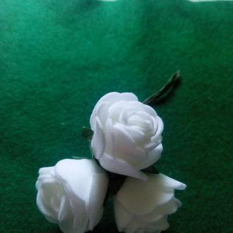 Цветы розочки из фоамирана