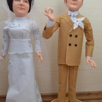 Портретные войлочные куклы
