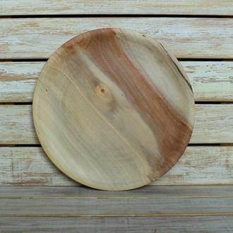 Тарілка із дерева