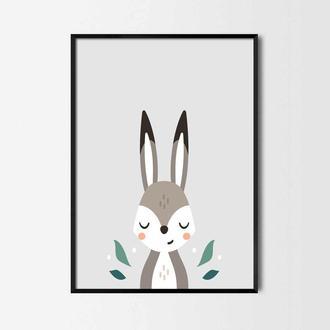 Постер для детской Зайчик