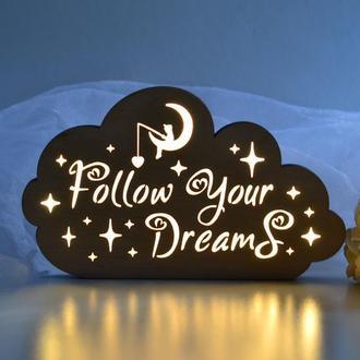 Ночник Follow your dreams
