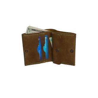 Оливковый кожаный кошелёк х5 (10 цветов)