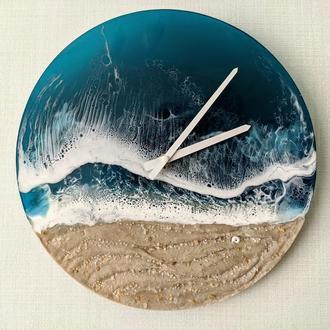 Часы Глубокое море в стиле резин арт