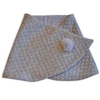 Шарф мини-снуд, шарф, теплый шарф